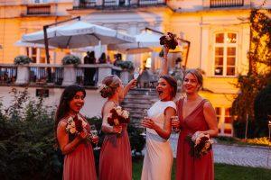 wesele w stylu glamour w Amber Room